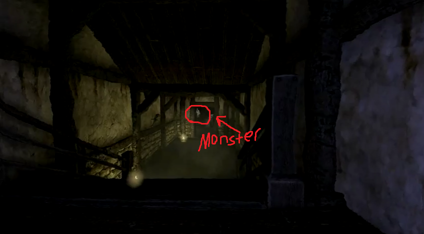 amnesia how to avoid monsters