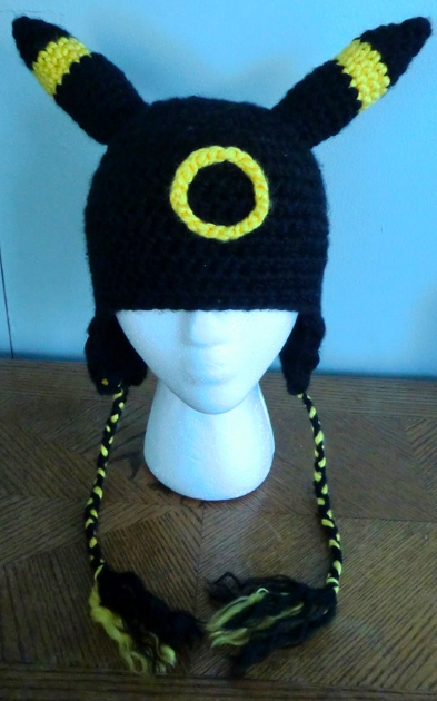 Crochet Umbreon : Crochet Umbreon Hat by LaviLovepaw on DeviantArt