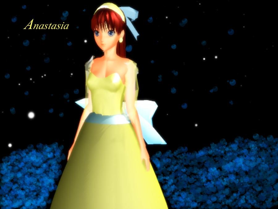 Anastasia Model + DL by Hoshiumi