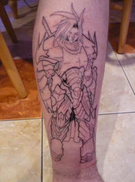 dragon slayer tattoo by modeus614 on deviantart. Black Bedroom Furniture Sets. Home Design Ideas