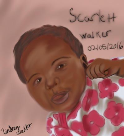 Scarlett Victoria Walker by lcwpaintme3