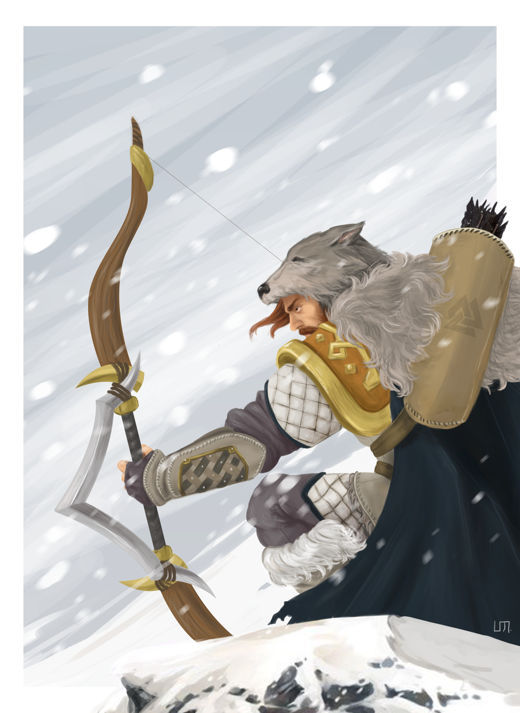 Take Vote Do Your Job >> Smite contest: Ullr by aibunny on DeviantArt