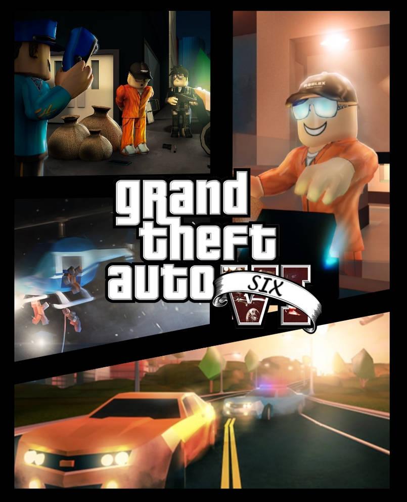 GTA VI Cover RoBLOX Jailbreak by thefoxgamer03 ...