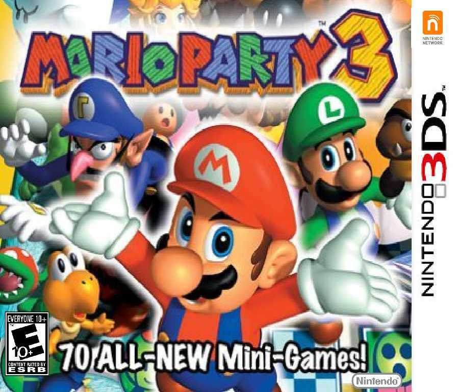 Nintendo 3ds Mario Games : Mario party for nintendo ds by darkradx on deviantart
