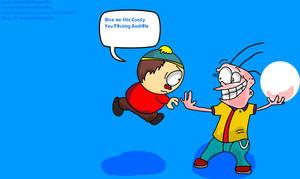 Cartman vs Eddy by CristianDarkraDx2496