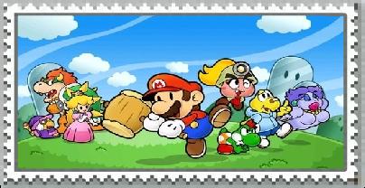 Paper Mario The Thousand Year Door Stamp by CristianDarkraDx2496
