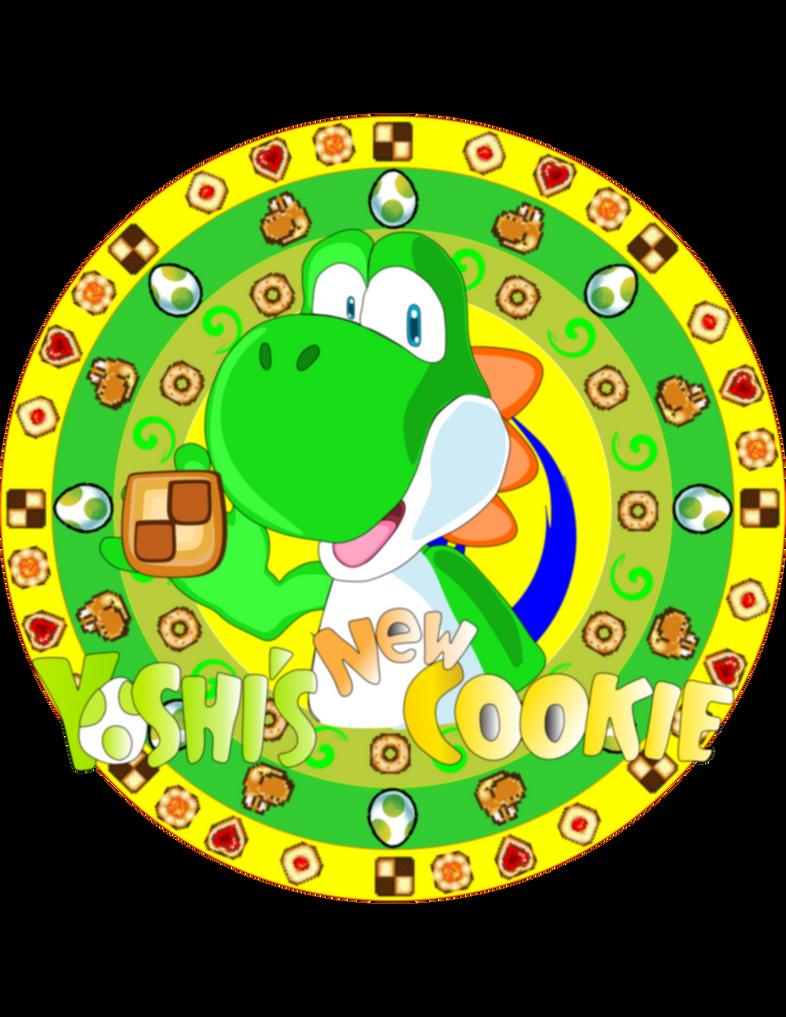Yoshi's New Cookie Logo by DarkraDx