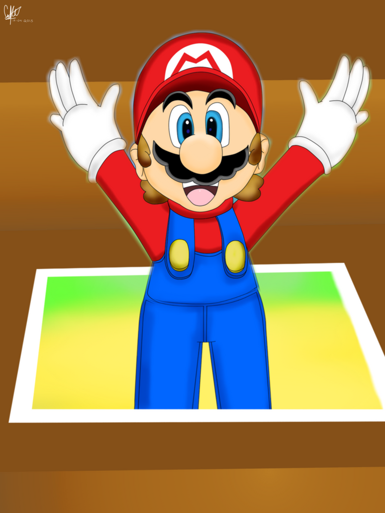 YAHOOO ! It's a me Mario by DarkraDx