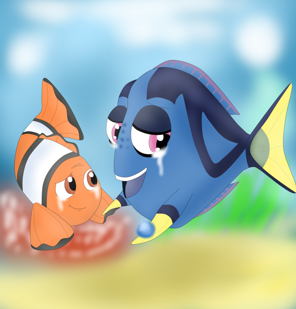 finding nemo marlin and dory relationship help
