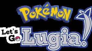 Pokemon Let's Go Lugia Custom Logo