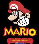 Mario Nintendo Fighters Logo