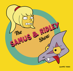 The Samus And Ridley Show Logo by CristianDarkraDx2496