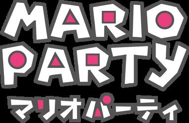 Mario Party X Squid Game Logo