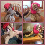 New laying pony plush pattern And commissions open by XxFallenAmbitionxX