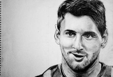 Lionel Messi by manasi3194