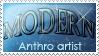 Modern Anthro stamp by Beti-Kot