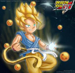 Goku by Beti-Kot