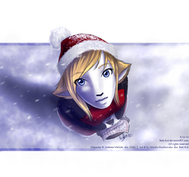 In the winter by Beti-Kot