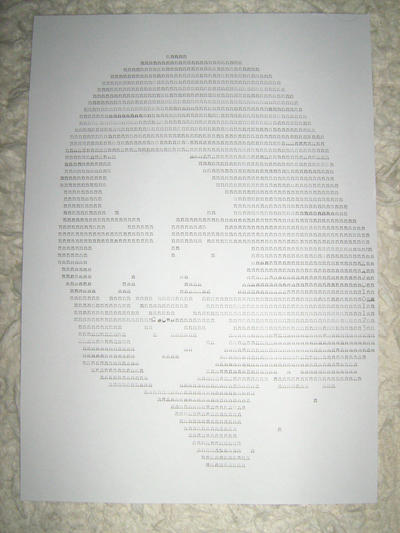 20101123 typewriter drawings portrait by reszko
