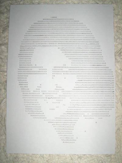 20101123 typewriter drawings portrait by reszko