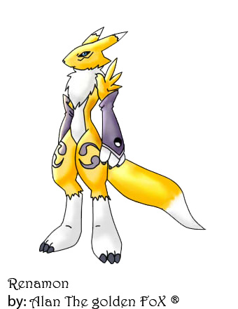 Renamon_by_Alan by 666Alan666