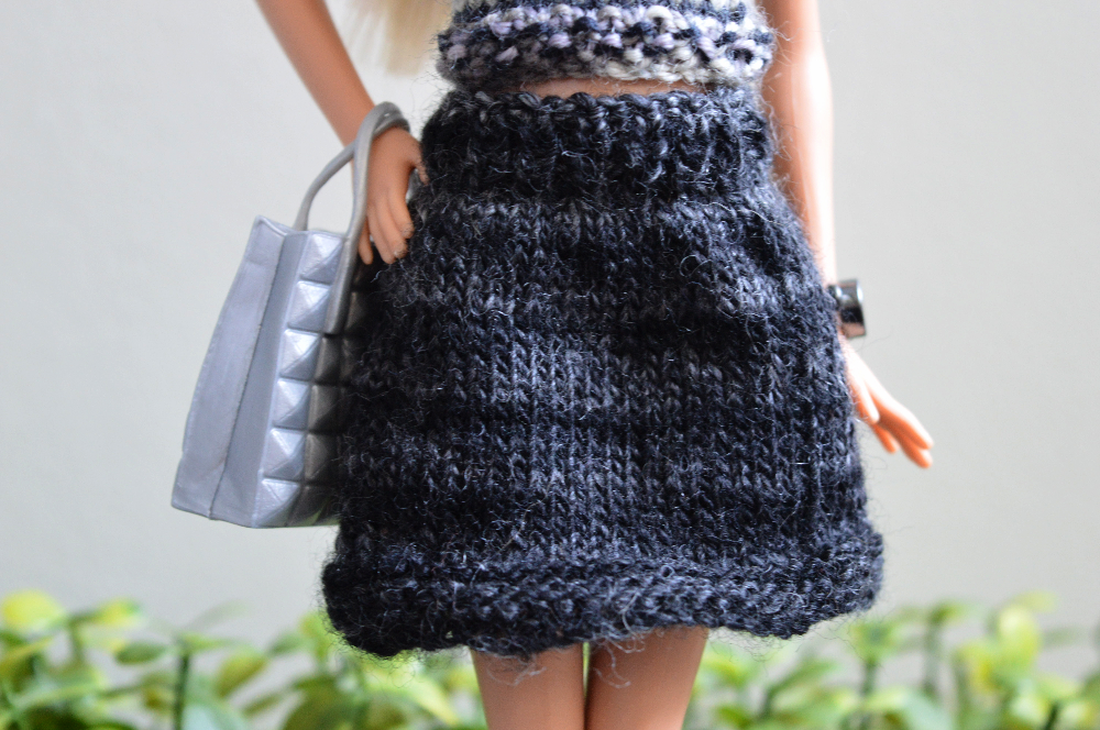 Barbie Doll Skirt II Knitting Pattern by kellykayfish on DeviantArt