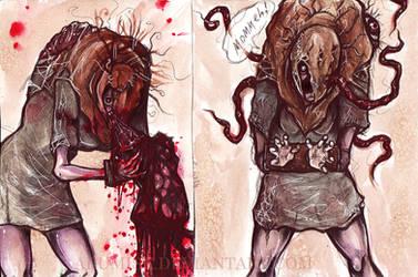 Lisa Trevor doodlers by arumise