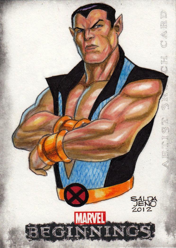 NAMOR_marvel beginnings 3 sketch card by JASONS21