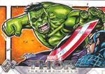 Thor the Dark world sketch card