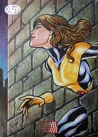 Marvel NOW! Shadowcat Artist Proof Sketch Card by JASONS21