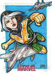 Women of Marvel - ROGUE sketch card 2