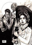 Halloween ink - Vampires Basecard by JASONS21