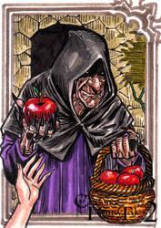 CINDERELLA -WITCH sketchcard