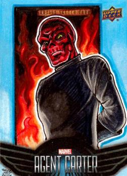 RED SKULL - Agent Carter SketchCards