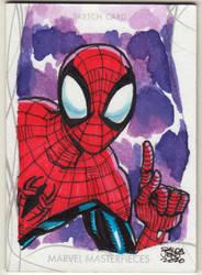 Marvel Masterpiece - SPIDERMAN sketchcard