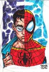 Marvel Masterpiece - PETER PARKER  sketchcard