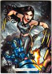 X-23 - Marvel masterpiece AP by JASONS21