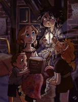 Stories at midnight by Sio64
