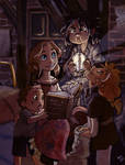 Stories at midnight