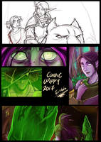 WIP Warcraft Comic by Sio64