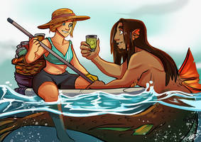 Mer May Jack and Maddy by Sio64