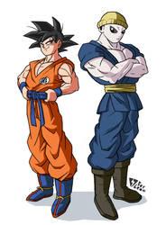 Goku and Jiren