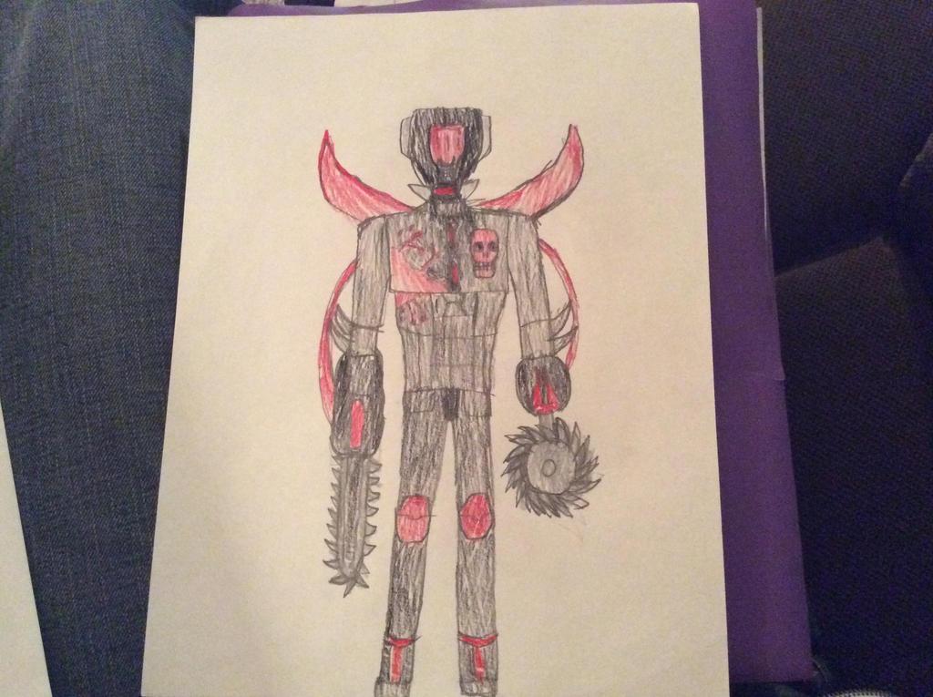 Killing machine by CBwolf97