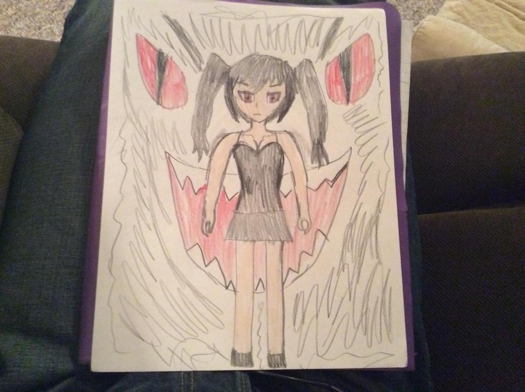 Darkness Daughter by CBwolf97