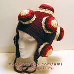 Katamari Hat - Cranberry