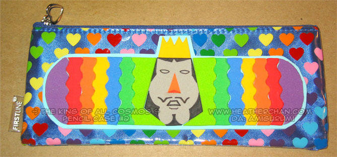 King of All Cosmos pencilcase2 by amigurumi