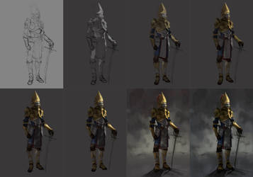 process of golden prince by froxtain