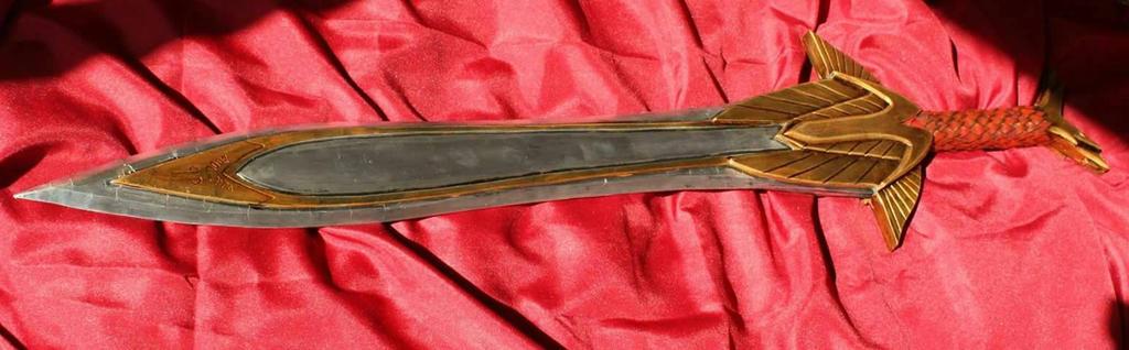 skyrim elven sword by WarbladeStudio