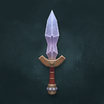 Hand-Painted Dagger