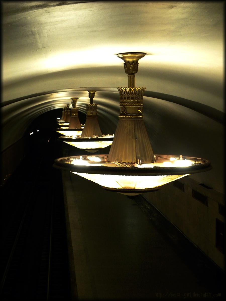 Art of Moscow Metro. 03. by VeIra-girl